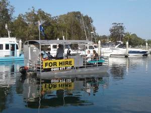 Clarence River BBQ Boats